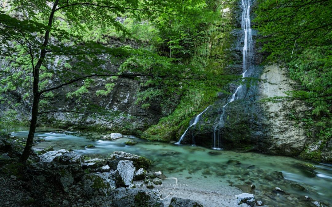 Smaragdener Fluss