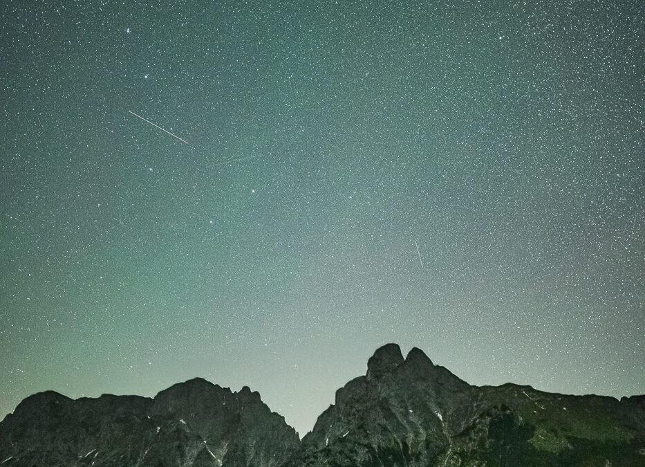 Sterne über dem Gesäuse